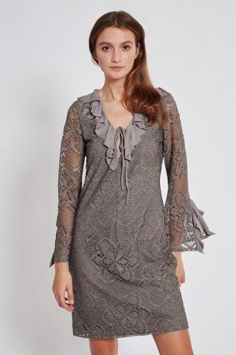 Ana Alcazar Longsleeve Dress Taiwyn