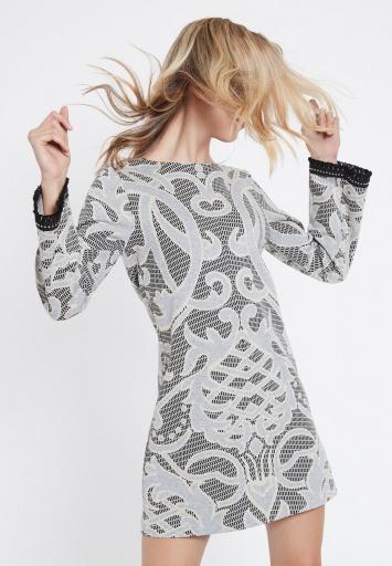 Ana Alcazar Schlichtes Kleid Vedaris