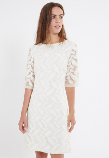 Ana Alcazar Short Sleeve Dress Zawea