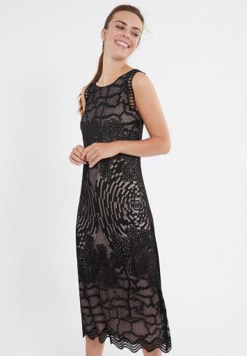 Ana Alcazar Midi Dress Zazil