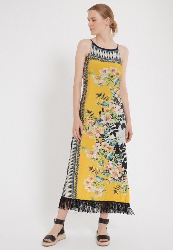 Ana Alcazar Maxi Dress Zipta
