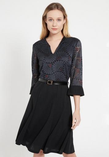 Mix Dress Bafte