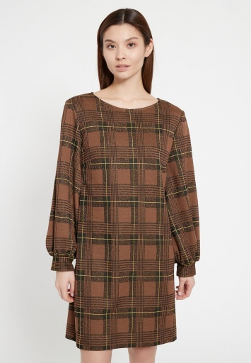Checked Dress Begas