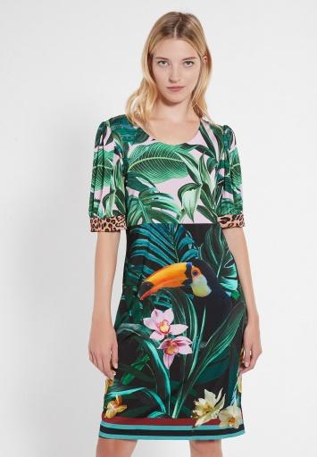Short Sleeve Dress Ceily