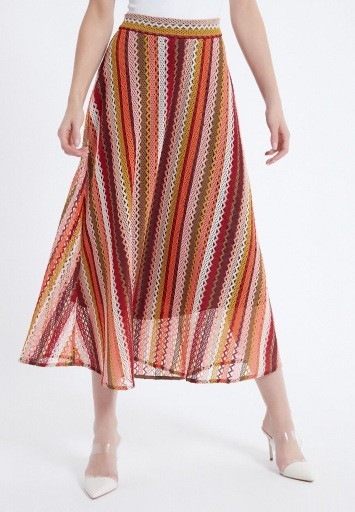 Ana Alcazar Midi Skirt Azena