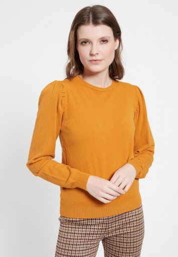 Puffed Sleeve Shirt Bibane