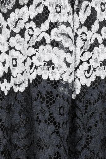 Ana Alcazar Spitzenrock Black Flaconea