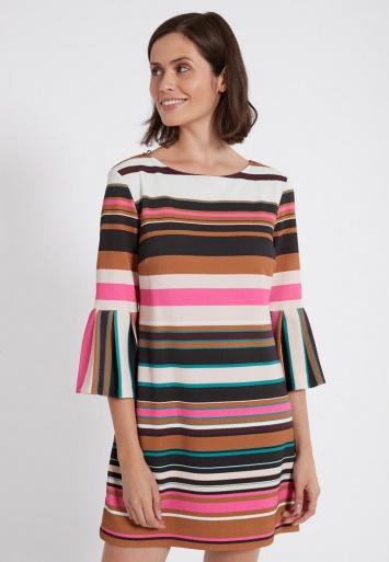 Ana Alcazar Volantsleeve Dress Peneya