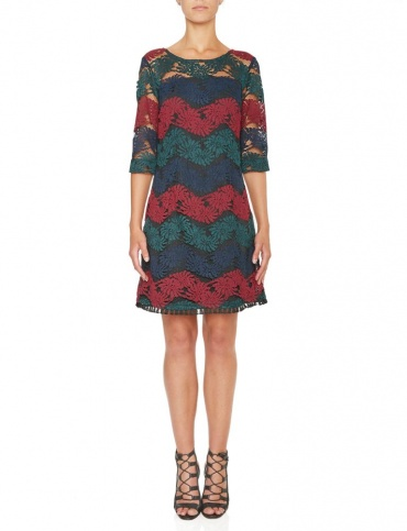 Ana Alcazar Lace Dress Kleamora