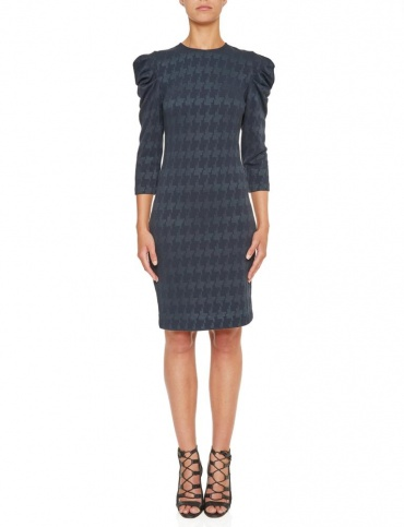 Ana Alcazar Shift Dress Kyrsta Blue