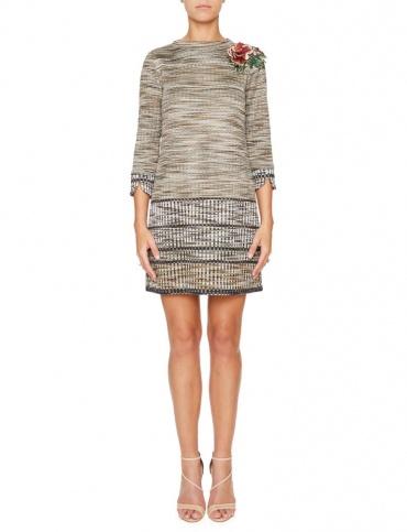Ana Alcazar Knitted Dress Koppera