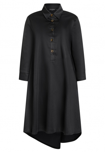 Ana Alcazar Blouse Dress Zepa Black