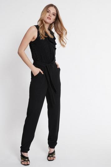 Ana Alcazar Jumpsuit Saote Black