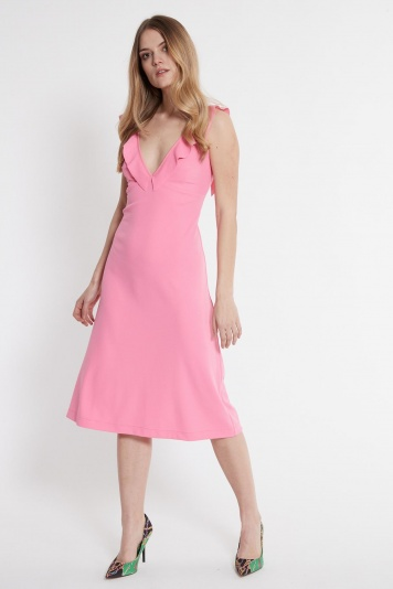 Ana Alcazar Midi Dress Sawonte Rose