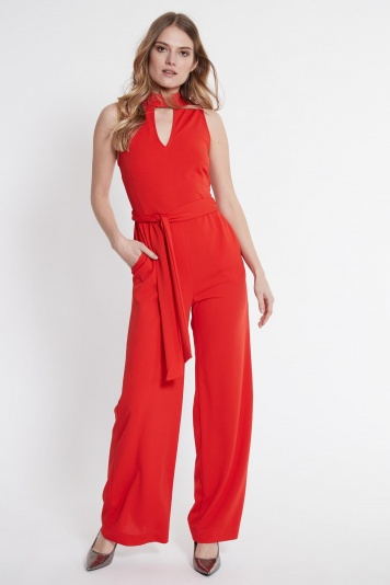 Ana Alcazar Jumpsuit Sawaris Red