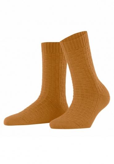 FALKE Impulse Rib Ochre Women Socks