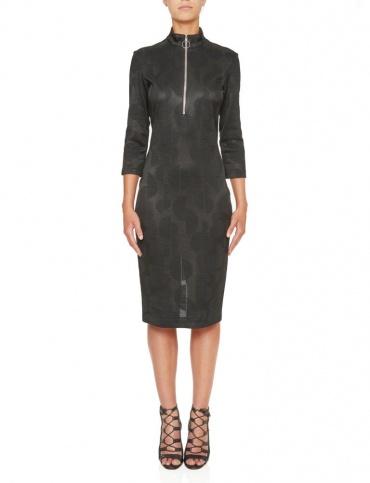 Ana Alcazar Shift Dress Kamys Black