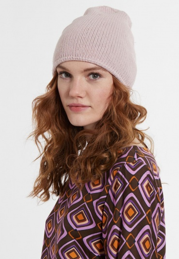 Mütze Beanie-Blush mit Kaschmiranteil