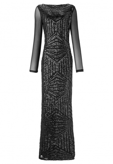 ana alcazar Black Label Maxi Jurk No. 72