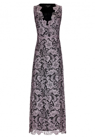 ana alcazar Black Label Maxi Lace Dress No. 64