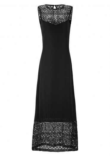 Ana Alcazar Lace Maxi Dress Emolais