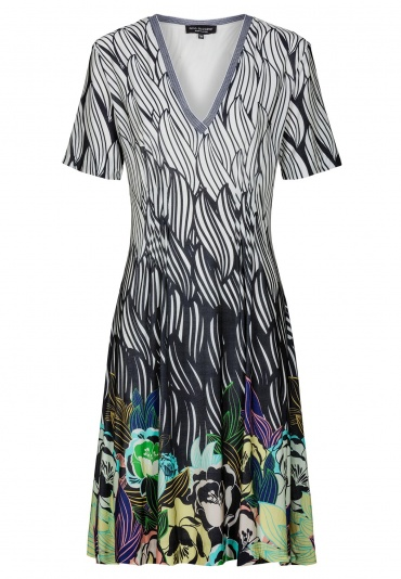 Ana Alcazar Dress Short Sleeve Felice