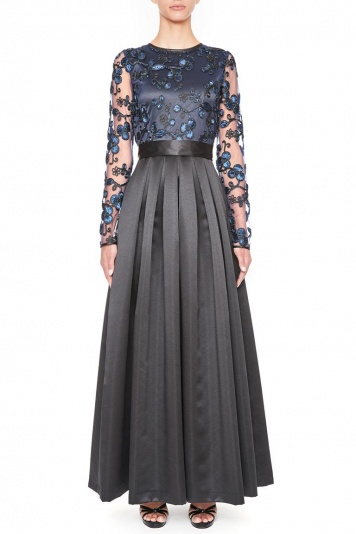 Ana Alcazar Black Label Luxury Evening Dress Juvendira