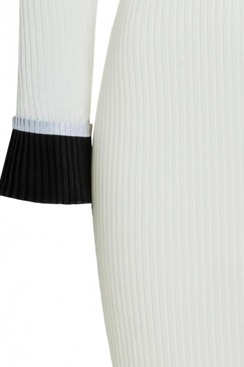 Ana Alcazar Midi Dress Poniky White