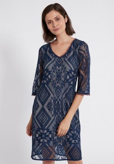 Ana Alcazar Shortsleeve Dress Saprys