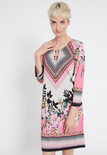 Ana Alcazar Sleeve Dress Shella