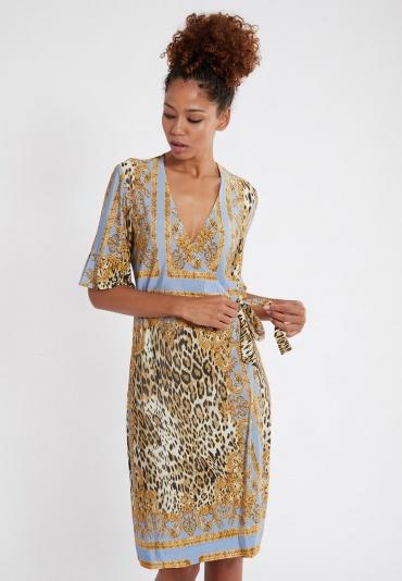 Ana Alcazar Wrap Dress Silkona