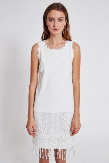 Ana Alcazar Mix Dress Tadone