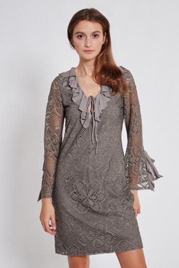 Ana Alcazar Longsleeve Dress Taiwyn