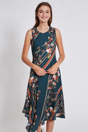 Ana Alcazar Midi Dress Talusa