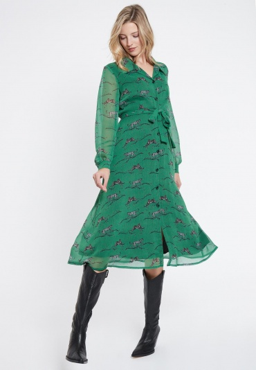 Ana Alcazar Midi Dress Vabisea