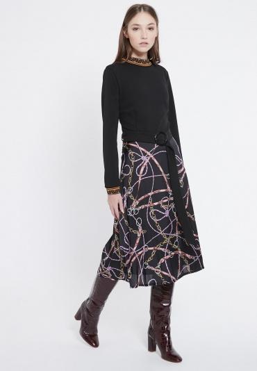 Ana Alcazar Mix Dress Vadecy