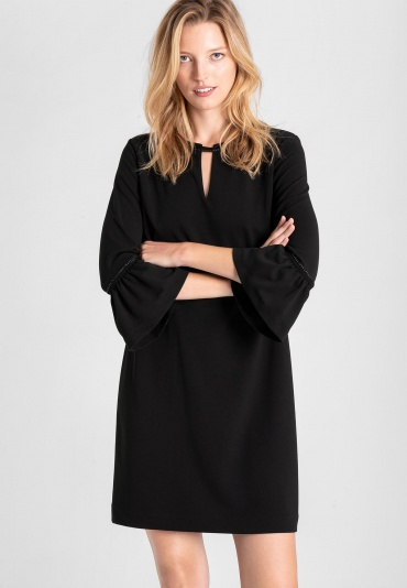 Ana Alcazar A-Shaped Dress Vafemisa Black