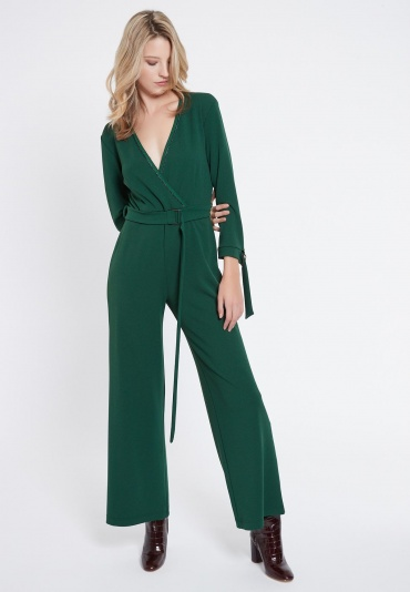 Ana Alcazar Jumpsuit Vafensy Green