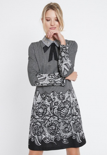 Ana Alcazar Collar Dress Vehyme
