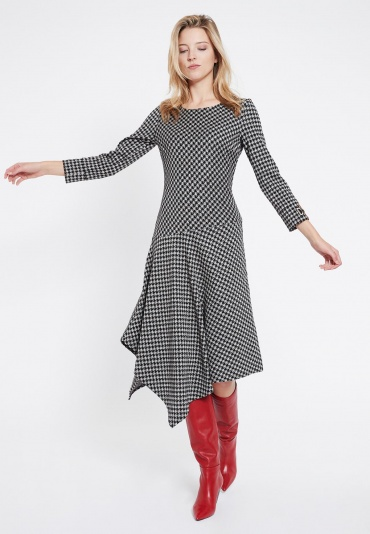 Ana Alcazar Asymmetrical Dress Velsora