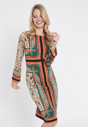 Ana Alcazar Long Sleeve Dress Volissa
