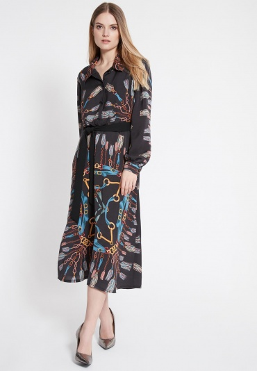 Ana Alcazar Midi Dress Wabota