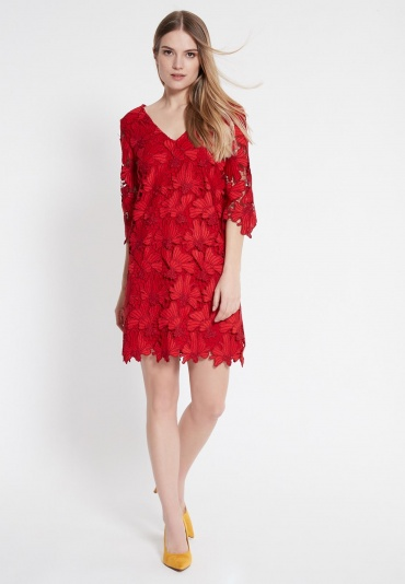 Ana Alcazar Lace Tunic Dress Wapas