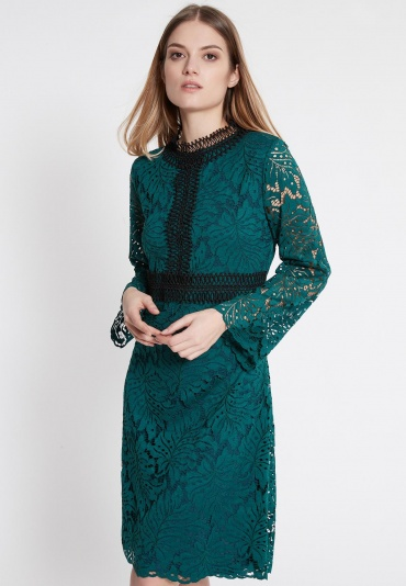 Ana Alcazar Lace Dress Wapsese