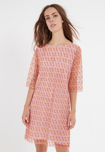 Ana Alcazar  Short Sleeve Dress Zaso