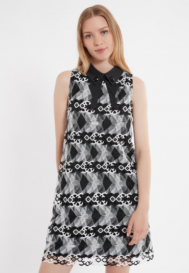 Ana Alcazar Collar Dress Zeby