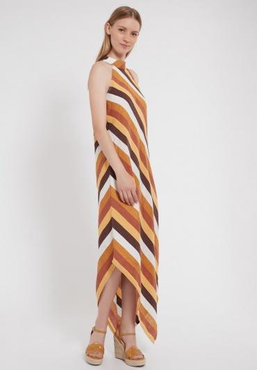 Ana Alcazar Asymmetrisches Cotton-Kleid Zenny