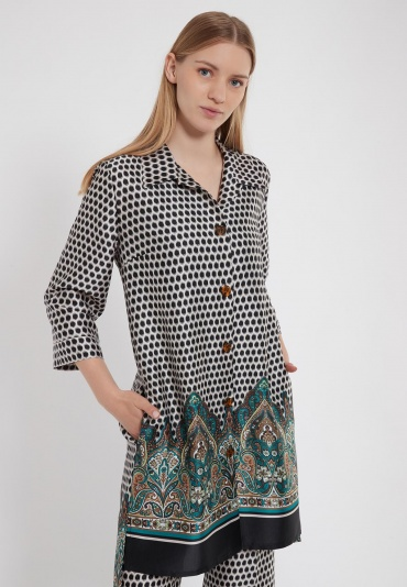 Ana Alcazar Blouse Dress Zabo