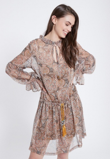 Ana Alcazar Boho Dress Zevas
