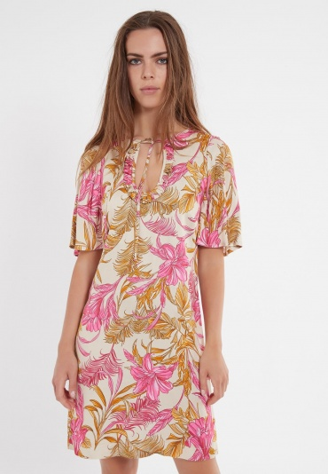 Ana Alcazar Short Sleeve Dress Zadea